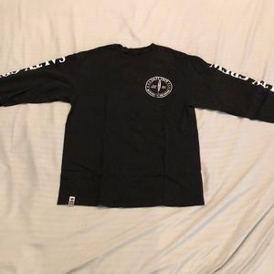 Black salty crew long sleeve tee
